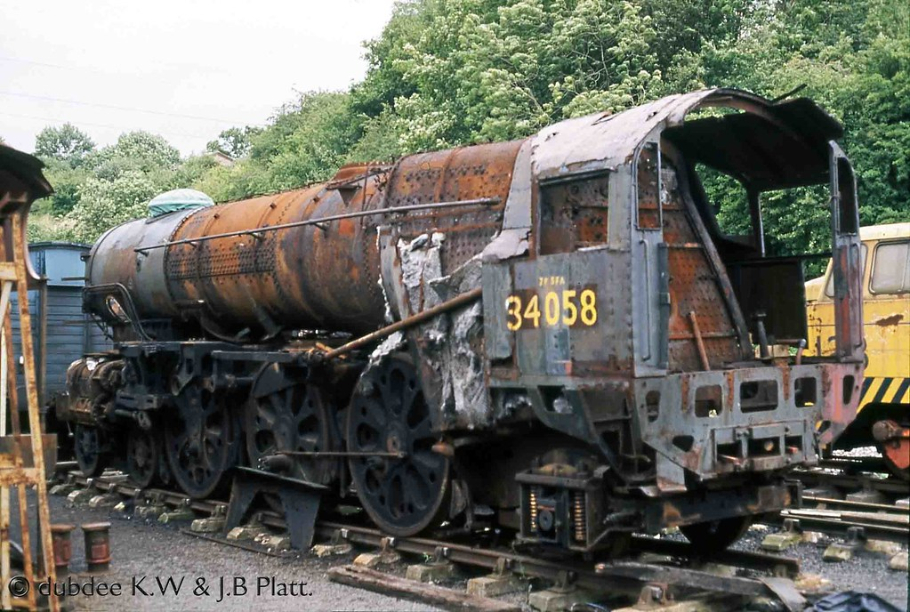 ... 28-07-88 34058 at Bitton | by dubdee