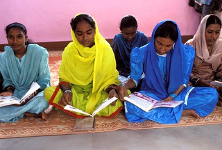 Women at an adult literacy class | by World Bank Photo Collection