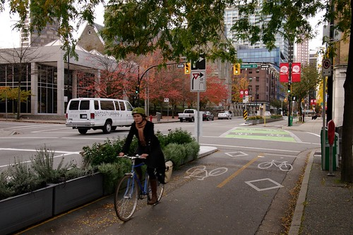 Dunsmuir Separated Bike Lanes 208 | by Paul Krueger