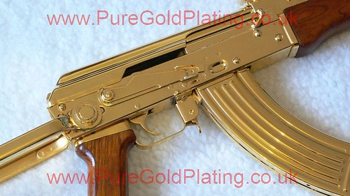 Gold Plated AK-47 m | by PureGoldPlating