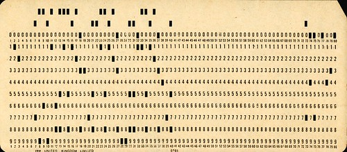 Used Punchcard | by BinaryApe