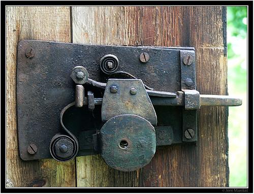 Old Door Lock Old Door Lock Inside Guy Jonsson Flickr