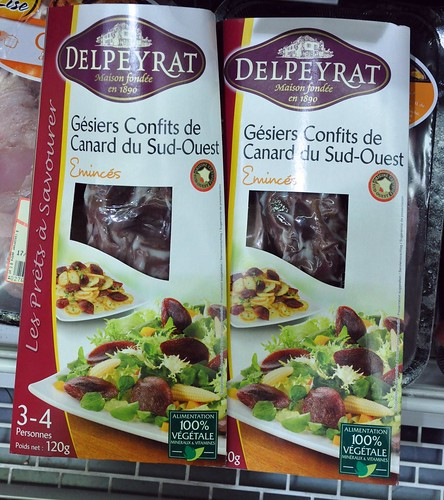 Duck Gizzards Confit - Commmon Product at a Dordogne Supermarket | by Food Lovers Odyssey