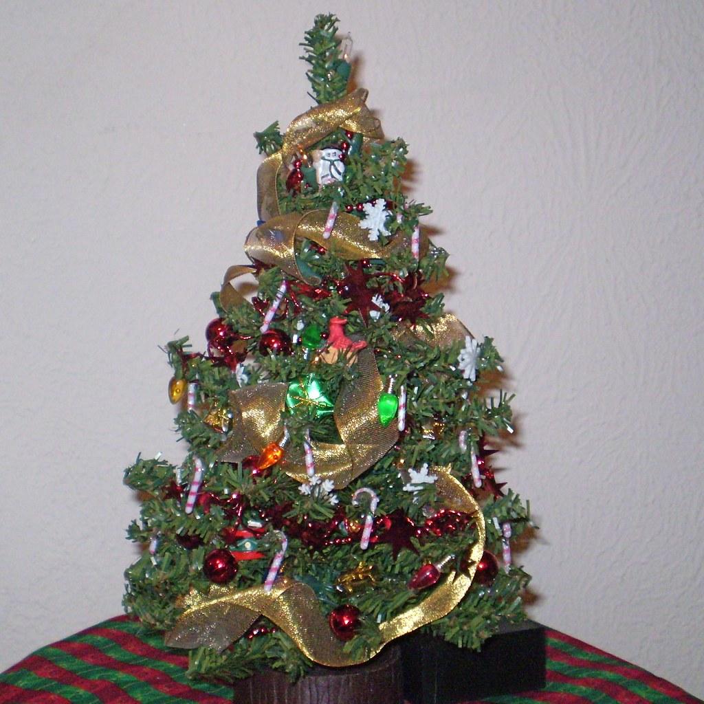 miniature christmas tree by janmadeit miniature christmas tree by janmadeit - Miniature Christmas Tree