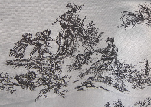 toile de jouy. Photo: Anna Amnell