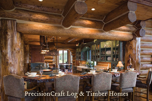 precision craft log homes