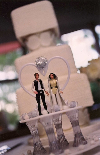 My wedding cake. | by galexiegirl