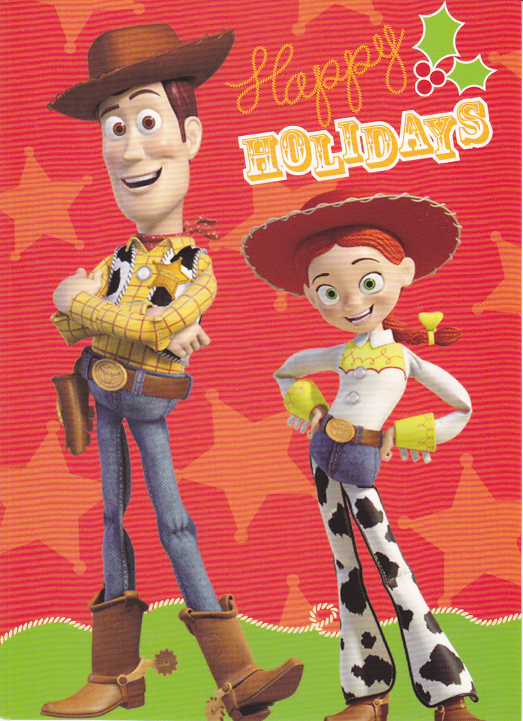 toy story christmas card by crayolamom - Toy Story Christmas Special