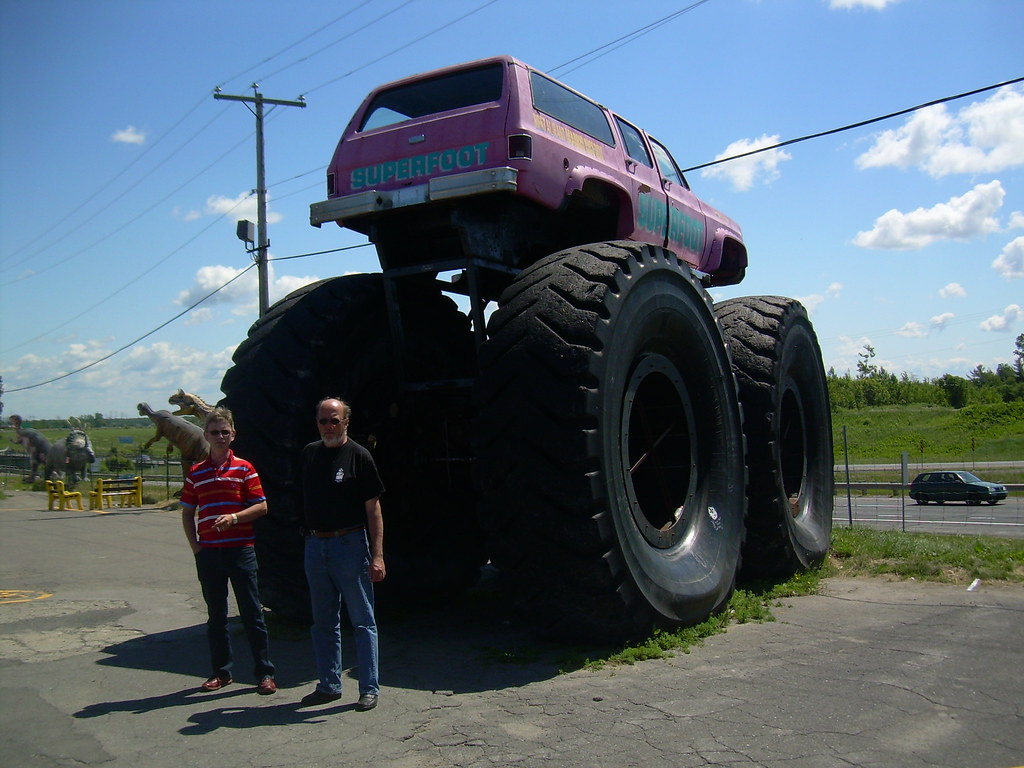 The biggest monster truck in the world