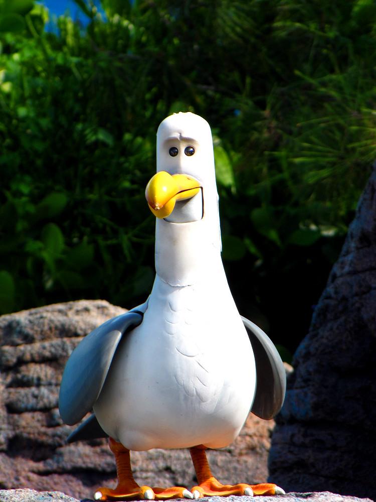 finding nemo seagull disneylori flickr