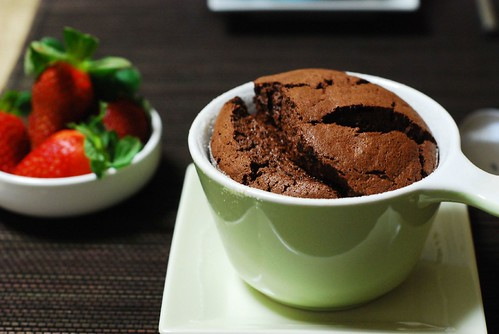 Chocolate souffle | by iL!N9c-