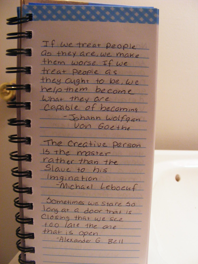 Quote Journal I Collect Quotes Emily Richter Flickr