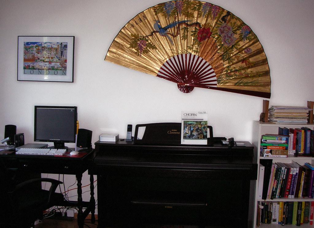 Giant Fan Wall Decor | LelisA | Flickr