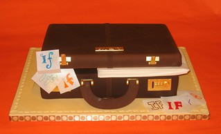 Briefcase Cake | by dahliascakes