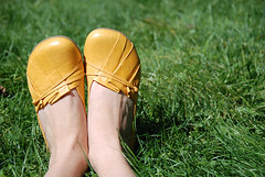 yellow :: shoes | by SouleMama