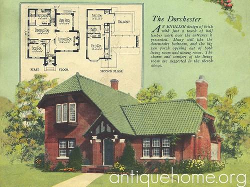 1925 radford house plan 1925 radford home an englis for 1925 bungalow floor plan