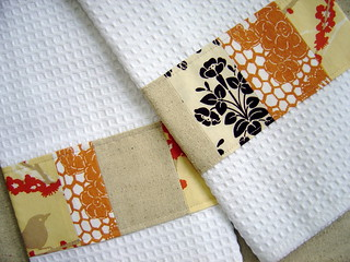 Patchwork towels | by KitchenTableMama