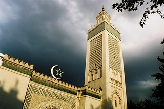 Stormy weather over the mosque. Paris | by slow paths images