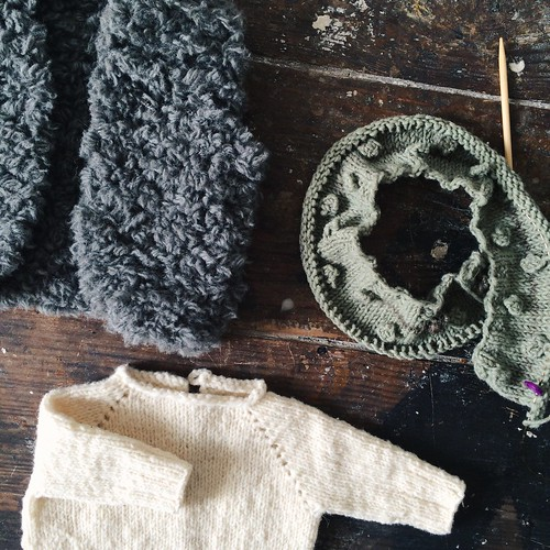 knitting for baby | by Rosa Pomar