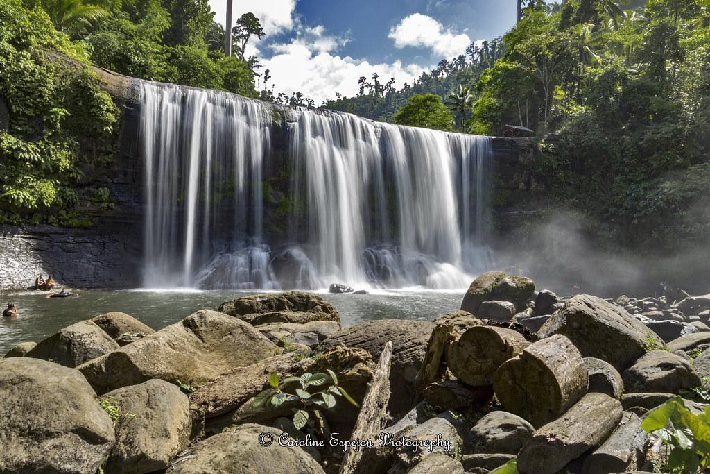 Campawan Curtain Falls In Baganga