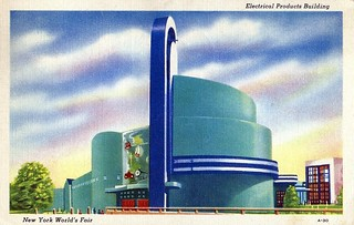 Vintage 1939 New York World's Fair Postcard - Electrical Products Building | by France1978