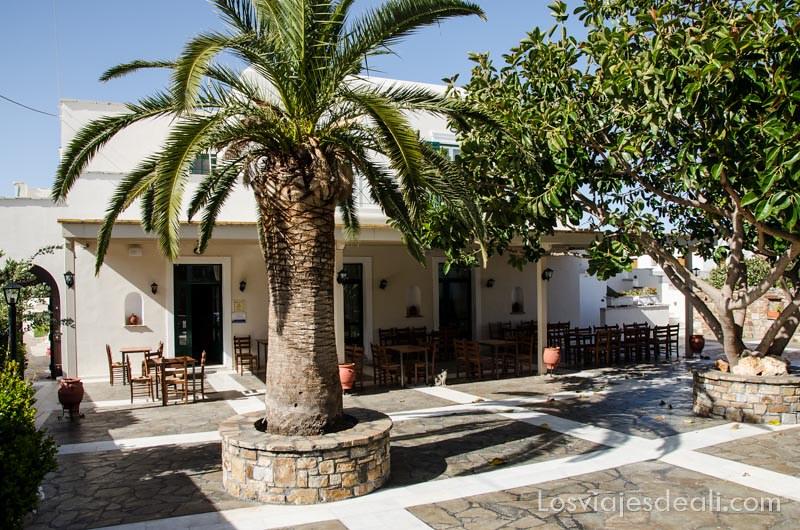 restaurante de Ano Sagri gastronomía griega