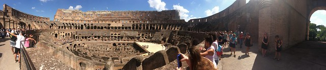 Flavian Amphitheatre Panarama