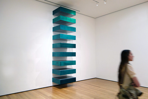 Judd untitled stack 1967 donald judd untitled for Donald judd stack 1972
