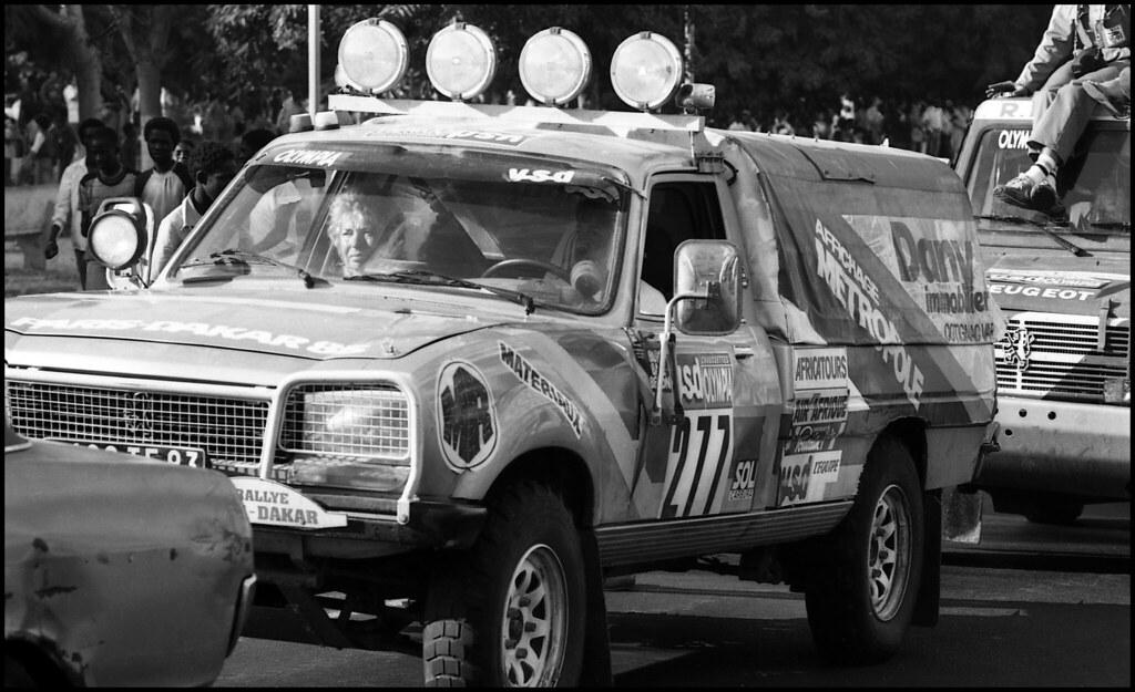 Peugeot 504 Dangel 277 Paris Dakar 1985 Baffalie Flickr