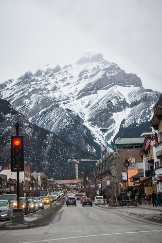 The town of Banff Alberta Canada | by m01229