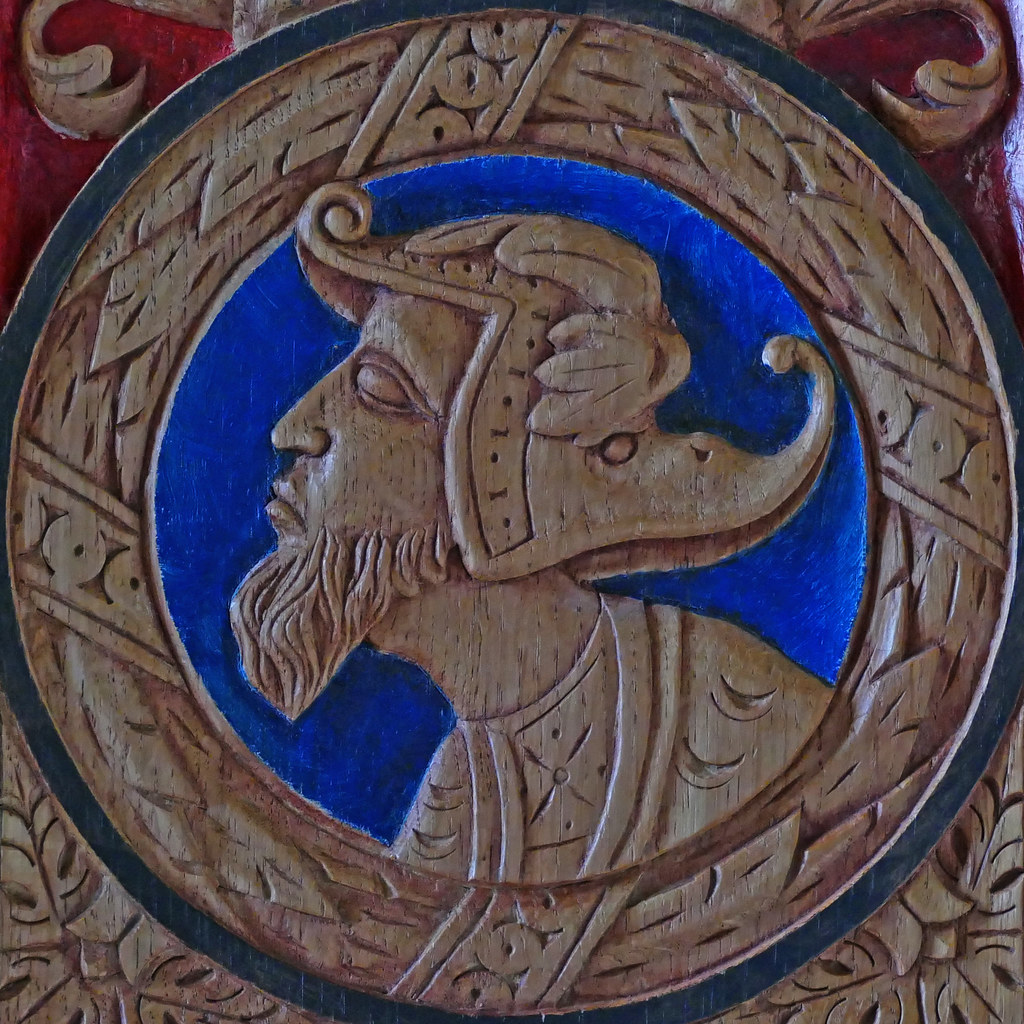 Cabinet Door Panel Carving Stirling Castle Stirling Stirl Flickr
