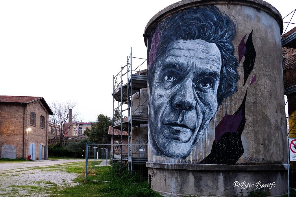 Ex Fabbrica Mira-Lanza. Pier Paolo Pasolini by Frederico Draw d2413bfbcec