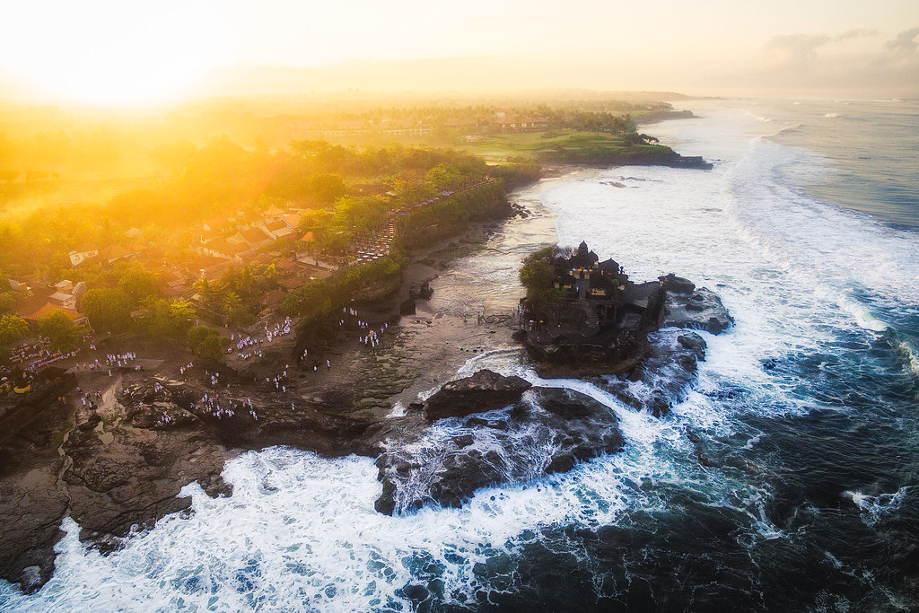 Indonesia - Bali - Tanah Lot - Sunrise - by Michael Matti