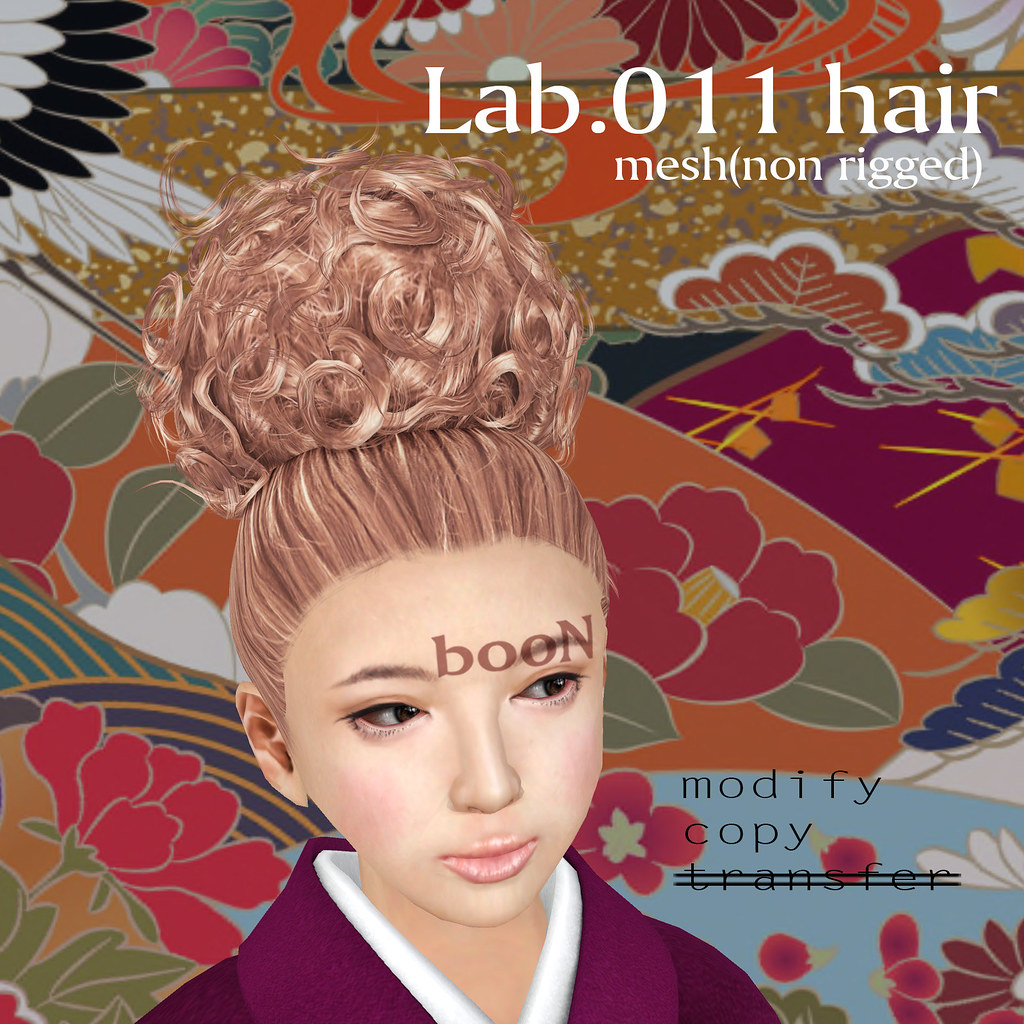 booN Lab.011 hair | maps.secondlife.com/secondlife/SAIKIN/12 ...