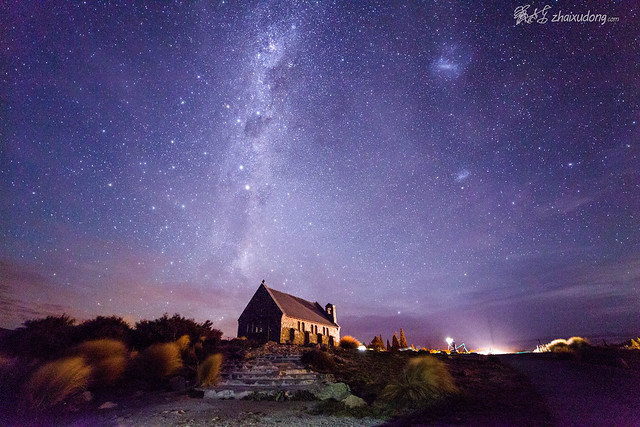 Church next to Lake Tekapo