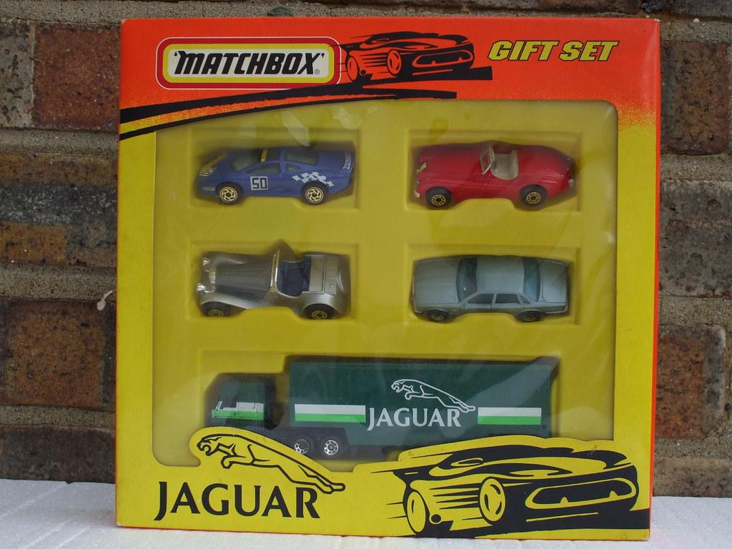 Vintage Matchbox Jaguar Gift Set 1980 S Retro Boxed Toy Flickr