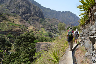 Walking on a levada, Ribeira do Paul Valley, Santo Antao, Cape Verde | by BuzzTrips