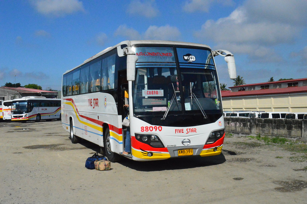Pangasinan Five Star Bus 88090 By Dli 7227787 Operated By Boy Dalin Liner