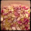 #Sugo al #nduja #homemade #CucinaDelloZio - sauté onions