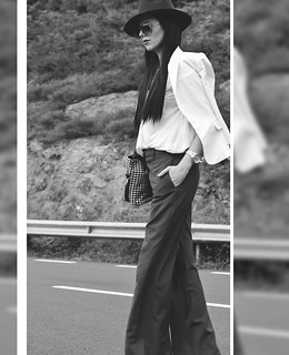 black-white-photography-blogger-fashion-model-wide-leg-pants-stylish-classy-chic-minimalist-editorial (2) | by Rue de Tres Chic
