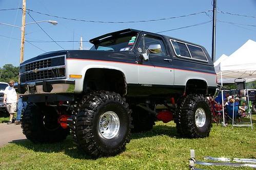 Monster Chevrolet K5 Blazer 4x4 With Custom Paint Job | Flickr