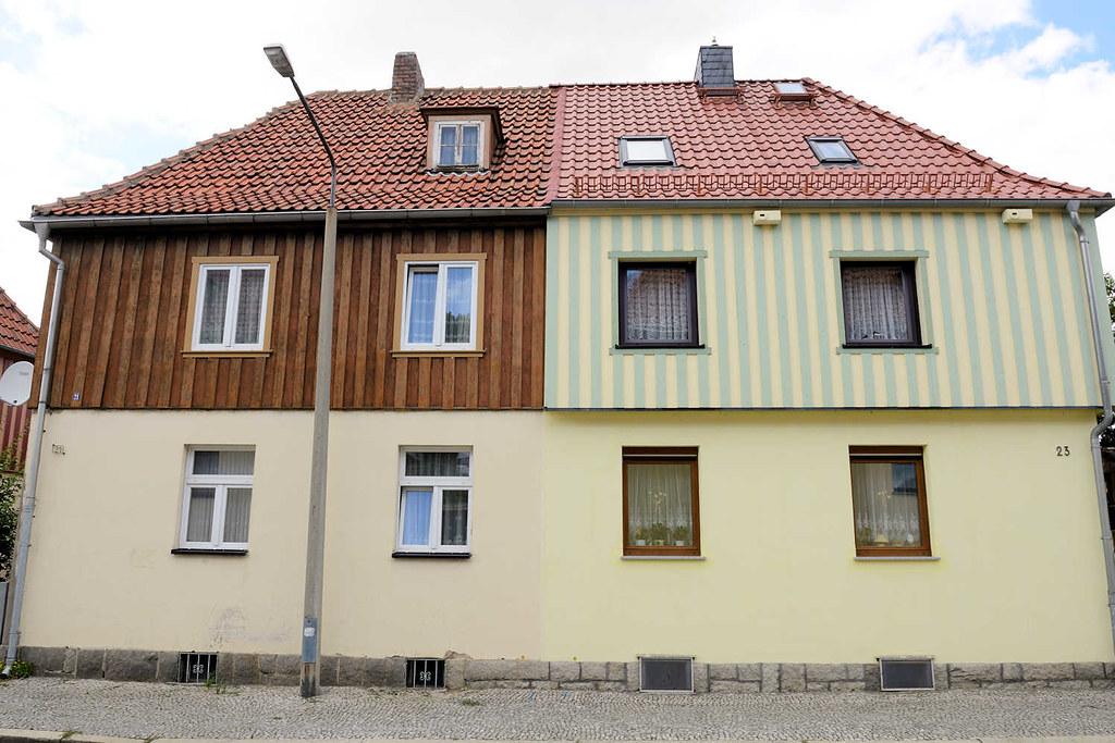 Fassadengestaltung Holz 3721 siedlungshäuser mit holz verkleidete fassade untersc flickr