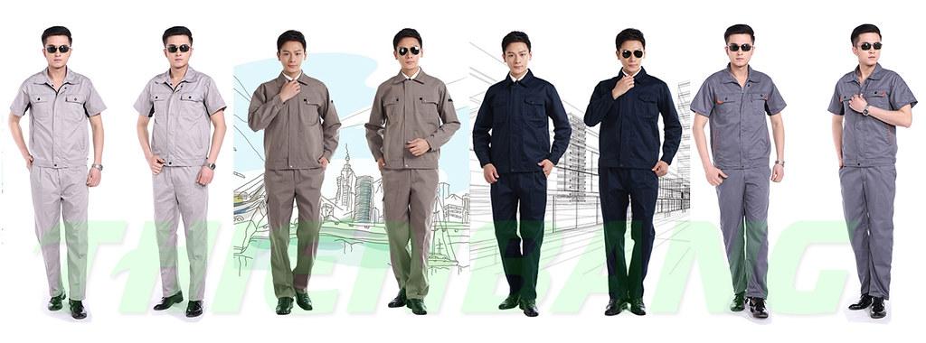 may đồng phục bảo hộ theo mẫu khách hàng