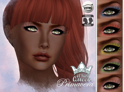 ::White Queen:: primavera eyeshadow - catwa | by Agnieszka Rothmanay