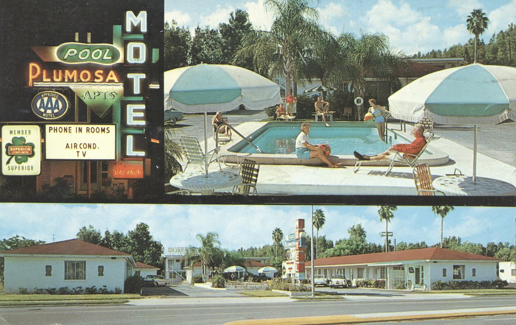 Plumosa Motel - Clearwater, Florida