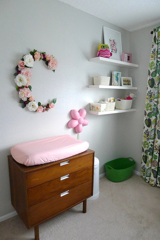 Changing Table + Shelves