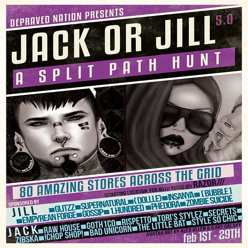 Jack or Jill 5.0 Hunt | by Phoebe ~Piercings & more~