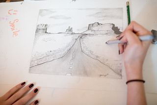landscape drawing 01-750 | by -kimcunningham