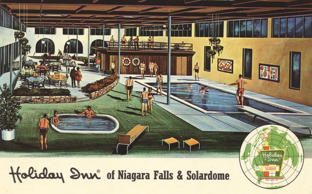 Holiday Inn of Niagara Falls & Solardome - Niagara Falls, New York