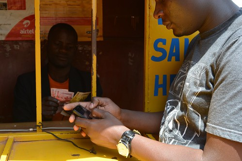 Withdrawing money from a mobile money account in Uganda | by wrcomms